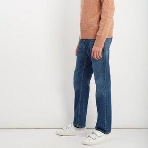 Acne Studios Men's Straight-Leg Jeans Blue 36